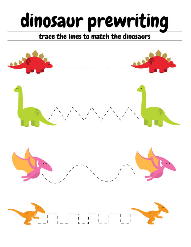 free dinosaur preschool worksheets the b keeps us honest. Black Bedroom Furniture Sets. Home Design Ideas