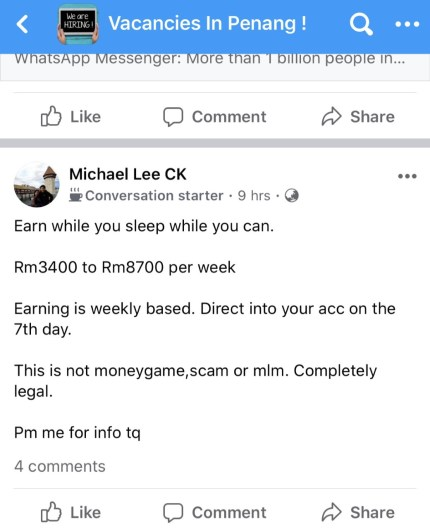 How Scammer Works