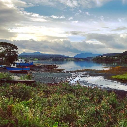 Photo of the Portree at low tide
