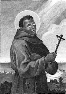 St. Benedict the Moor, O.F.M. (Presumed Public Domain)