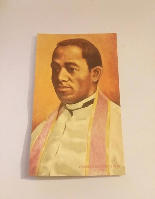 Tolton Holy Card with Canonization Prayer! Pray it!