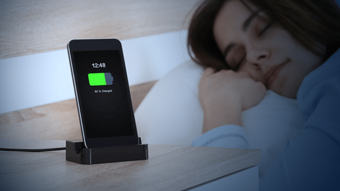 Charging your phone overnight
