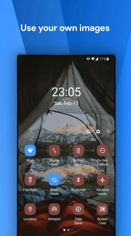 One Shade: Custom Notifications and Quick Settings