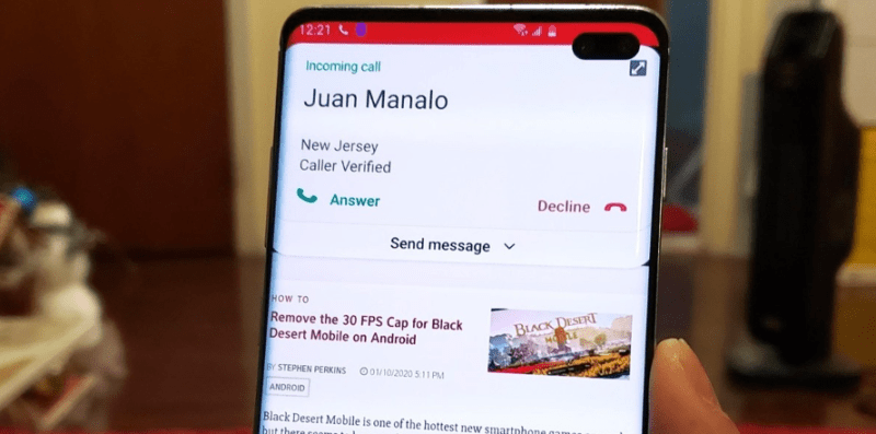 Incoming Calls on Android