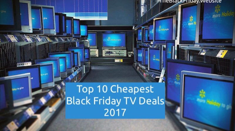 black-friday-cheapest tv deals 2017