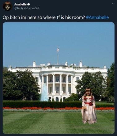 Annabelle meme english 10