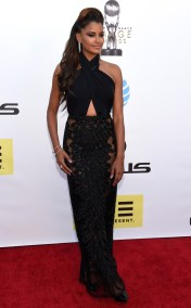 CLAUDIA JORDAN NAACP IMAGE AWARDS 2016 RED CARPET