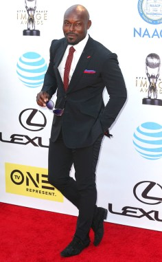 JIMMY JEAN LEWIS NAACP IMAGE AWARDS 2016 RED CARPET