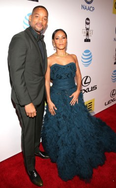 WILL SMITH AND JADA PINKETT SMITH NAACP IMAGE AWARDS 2016 RED CARPET