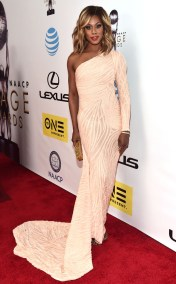 LAVERNE COX NAACP IMAGE AWARDS 2016 RED CARPET