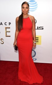 SANAA LATHAN NAACP IMAGE AWARDS 2016 RED CARPET
