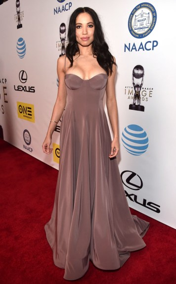 JURNEE SMOLLETT BELL NAACP IMAGE AWARDS 2016 RED CARPET