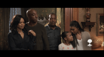 Left To Right: Kimberly Elise, JB Smoove, Danny Glover, Gabrielle Union