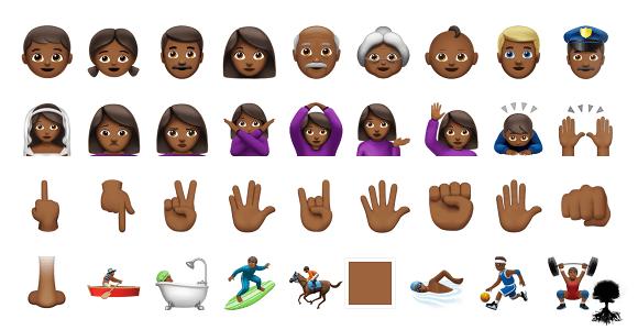 D I Y: Copy & Paste Emojis No App Required B L A C K Emojis