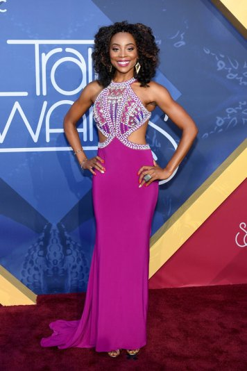 LAS VEGAS, NV - NOVEMBER 06: Actress Erica Ash attends the 2016 Soul Train Music Awards at the Orleans Arena on November 6, 2016 in Las Vegas, Nevada. (Photo by Ethan Miller/Getty Images)