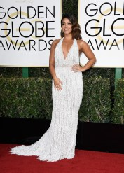 BEVERLY HILLS, CA - JANUARY 08: Actress Gina Rodriguez attends the 74th Annual Golden Globe Awards at The Beverly Hilton Hotel on January 8, 2017 in Beverly Hills, California. (Photo by Frazer Harrison/Getty Images)
