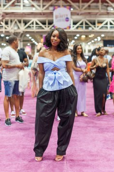 Kahlana Barfield_InStyle Editor_at My Black is Beautiful booth_EMF