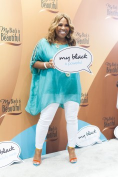 Mona Scott Young_at My Black is Beautiful booth_EMF