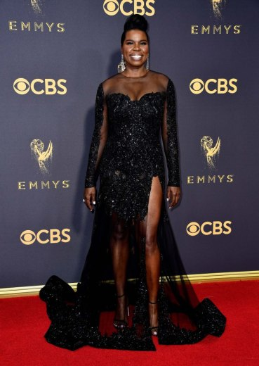 LOS ANGELES, CA - SEPTEMBER 17: Actor Leslie Jones attends the 69th Annual Primetime Emmy Awards at Microsoft Theater on September 17, 2017 in Los Angeles, California. (Photo by Frazer Harrison/Getty Images)