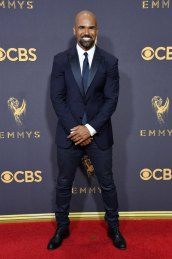 LOS ANGELES, CA - SEPTEMBER 17: Actor Shemar Moore attends the 69th Annual Primetime Emmy Awards at Microsoft Theater on September 17, 2017 in Los Angeles, California. (Photo by Steve Granitz/WireImage)