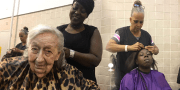 Black Hair Stylist Help Fix The Hair Of Hurricane Harvey Victims & Why Its Important
