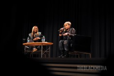"""Oct. 10, 2017 Shanti Das Interview T-Boz About Her Book """"A Sick Life"""" At The Rich Auditorium In Atlanta. Photo © Tahir Register"""