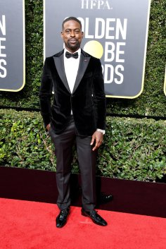 BEVERLY HILLS, CA - JANUARY 07: Actor Sterling K. Brown attends The 75th Annual Golden Globe Awards at The Beverly Hilton Hotel on January 7, 2018 in Beverly Hills, California. (Photo by Steve Granitz/WireImage)