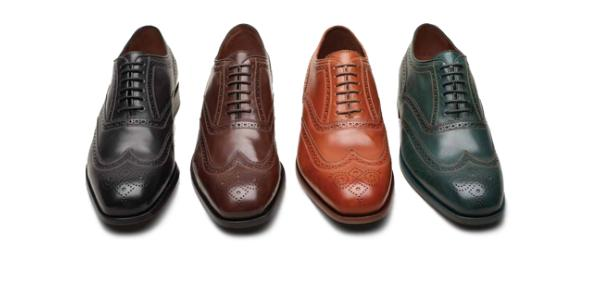 Florsheim By Duckie Brown, Contrast Wing Tip Lace Up