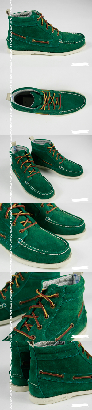 Band Of Outsiders & Sperry Topsiders High Green Chukka Boot $240