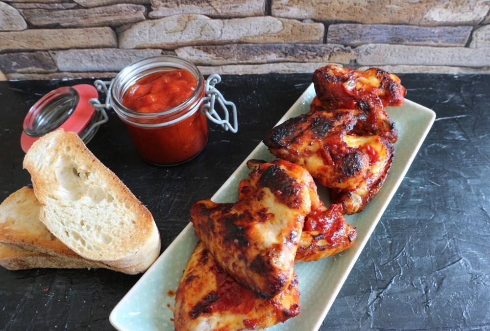 Chicken Wings Tomaten Chili Marinade