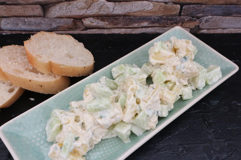 Kartoffel-Gurken Salat