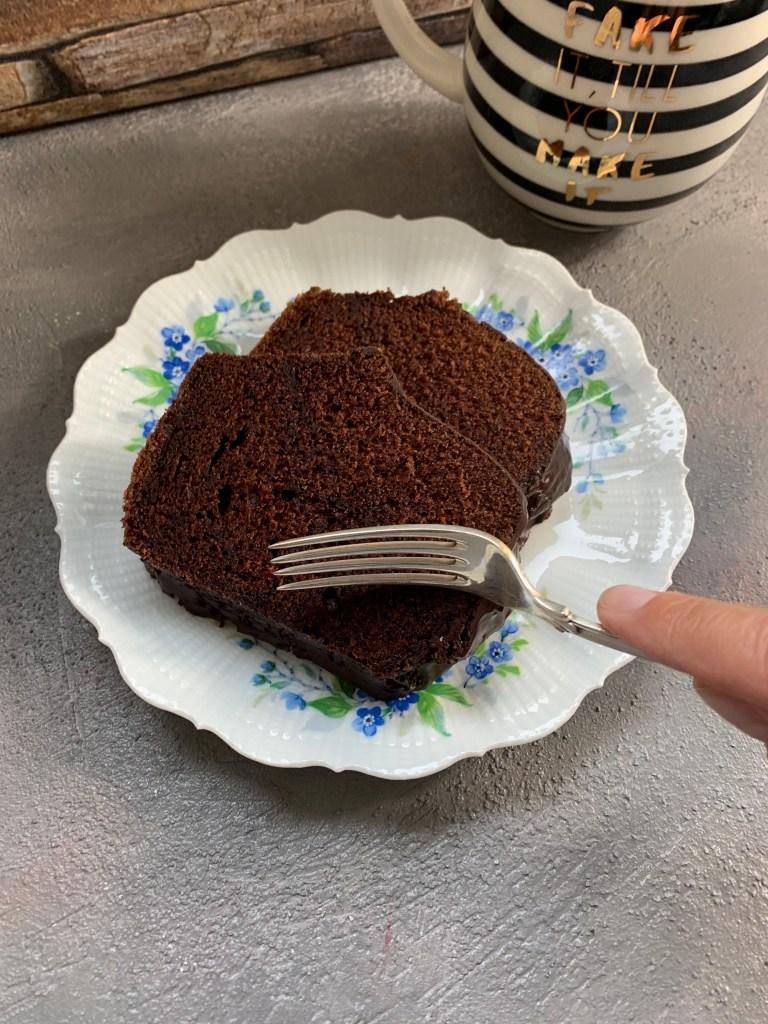 Schokoladen-Espresso Kuchen - super saftig und lecker