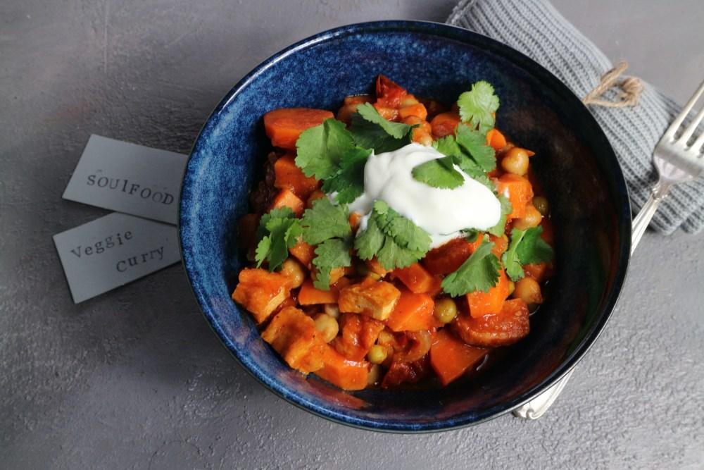 Veggie Curry mit Tofu