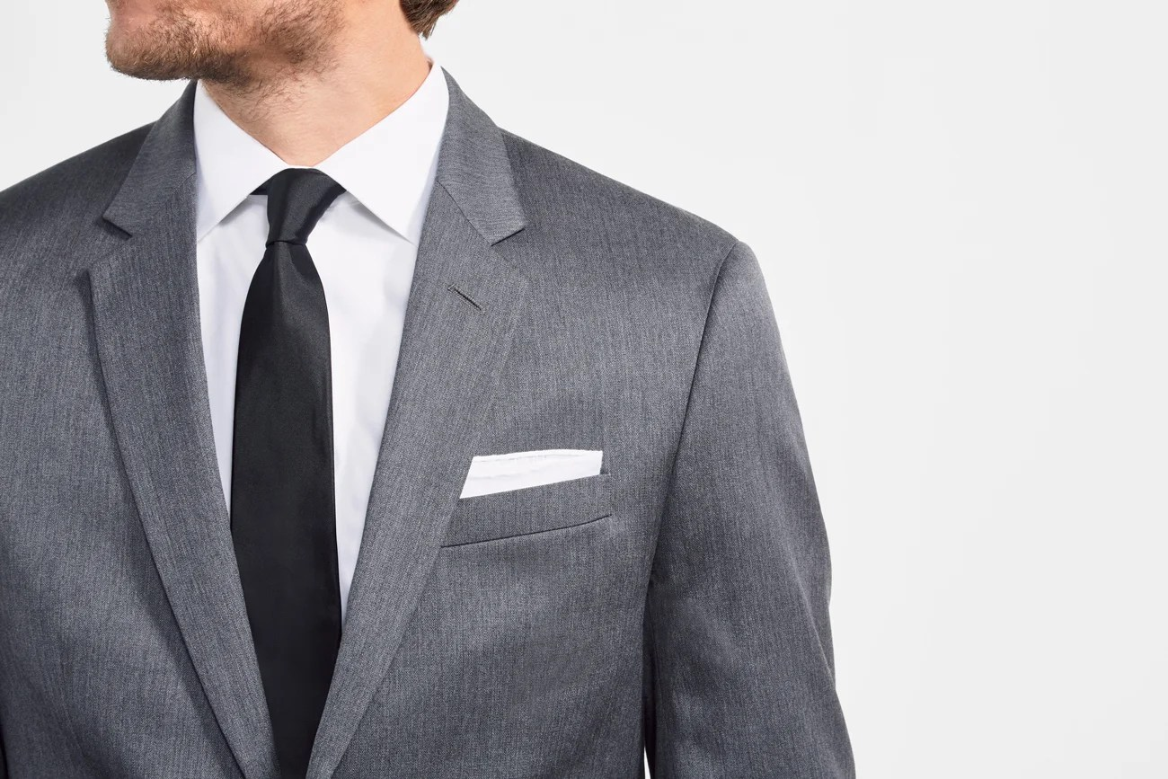 How We Get You in the Right Suit and Jacket Size, Online
