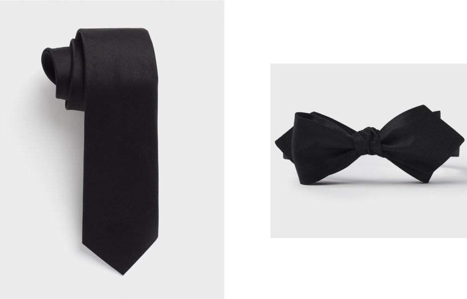 Bow tie vs necktie