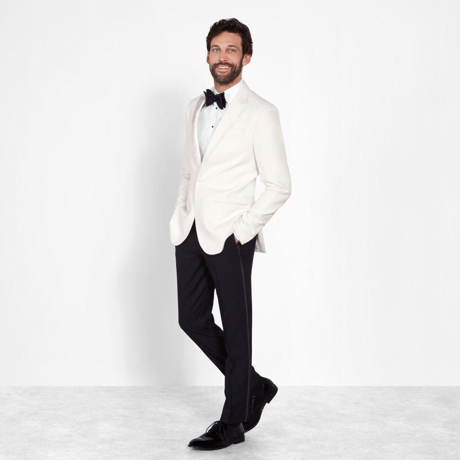 Creative black tie wedding attire for men