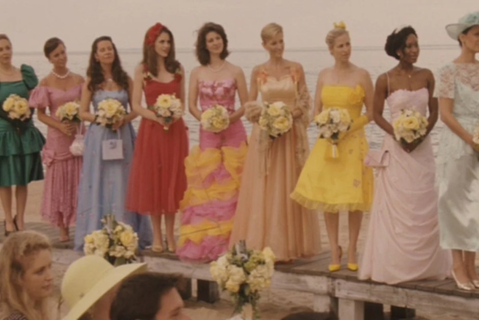 The wedding from 27 Dresses, one of the best wedding movies.
