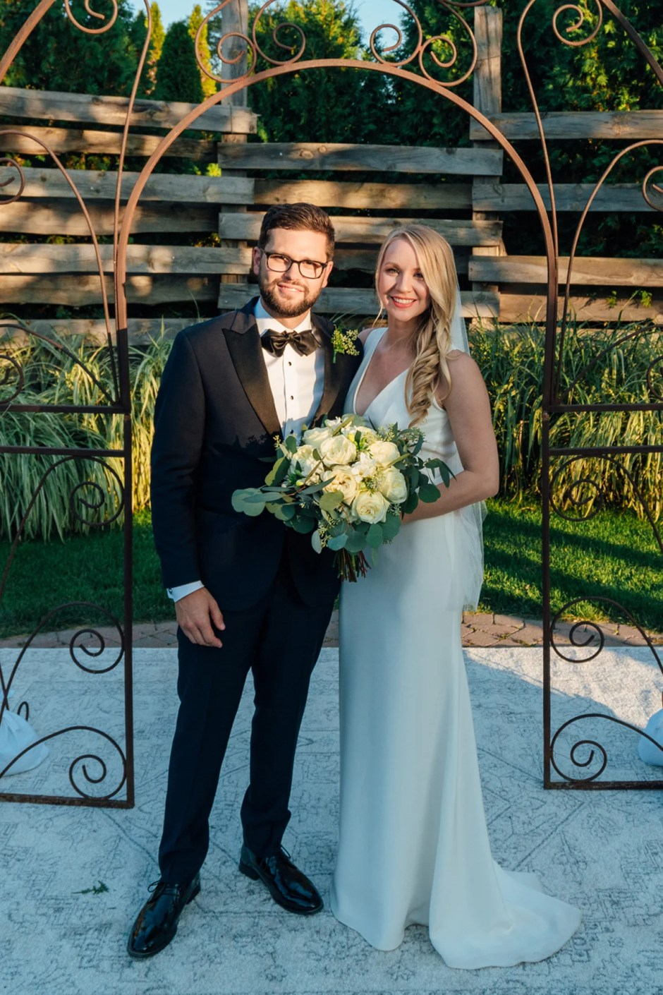 An Unusually Hot Greenhouse Wedding | The Black Tux Blog