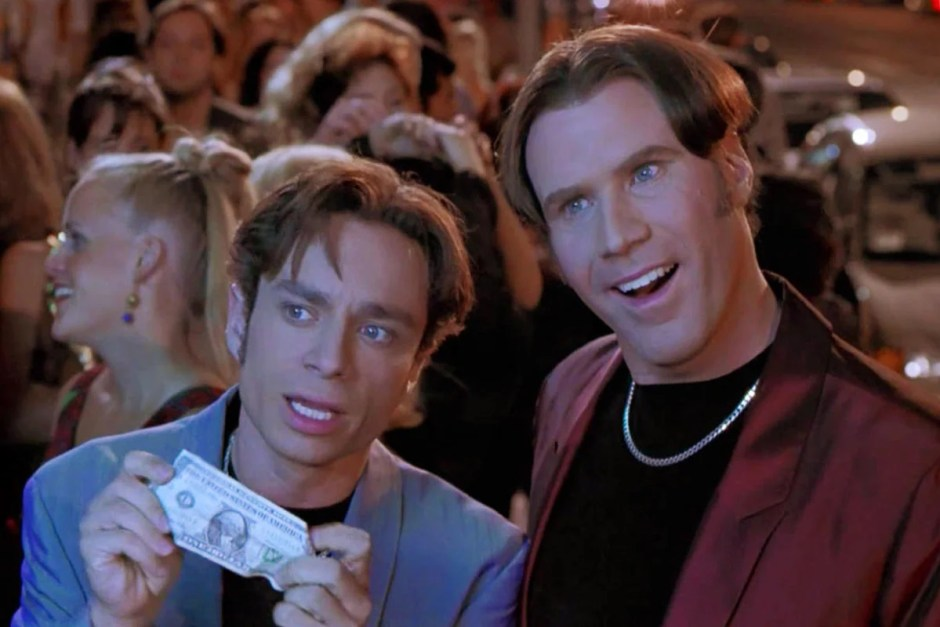 Will Ferrell and Chris Kattan in A Night at the Roxbury.