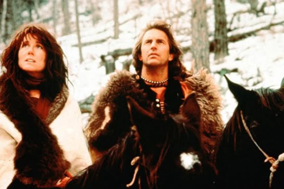 Honeymoons are weird in Dances With Wolves.