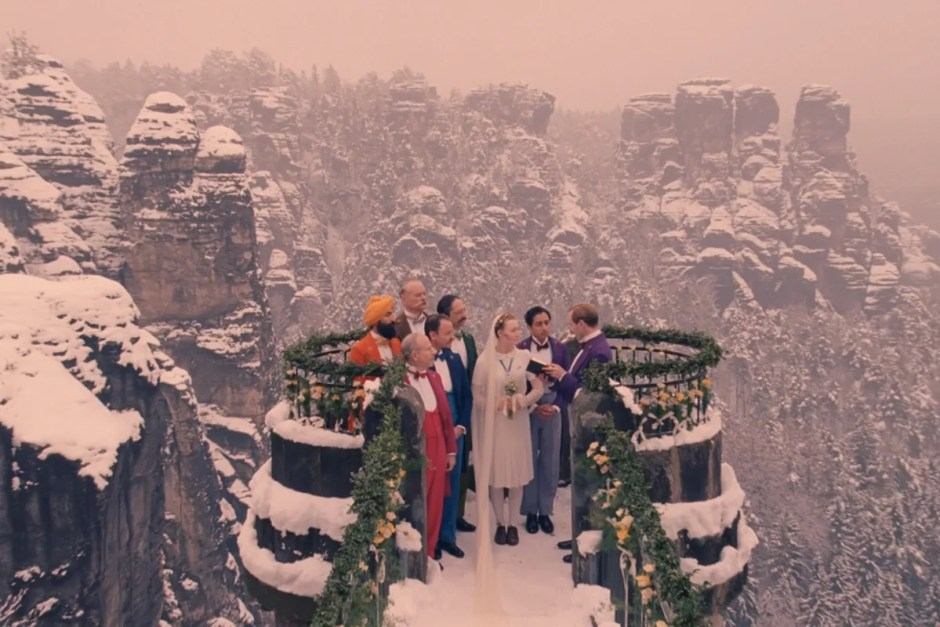 The 100 Best Movie Weddings, Ranked, including The Grand Budapest Hotel.