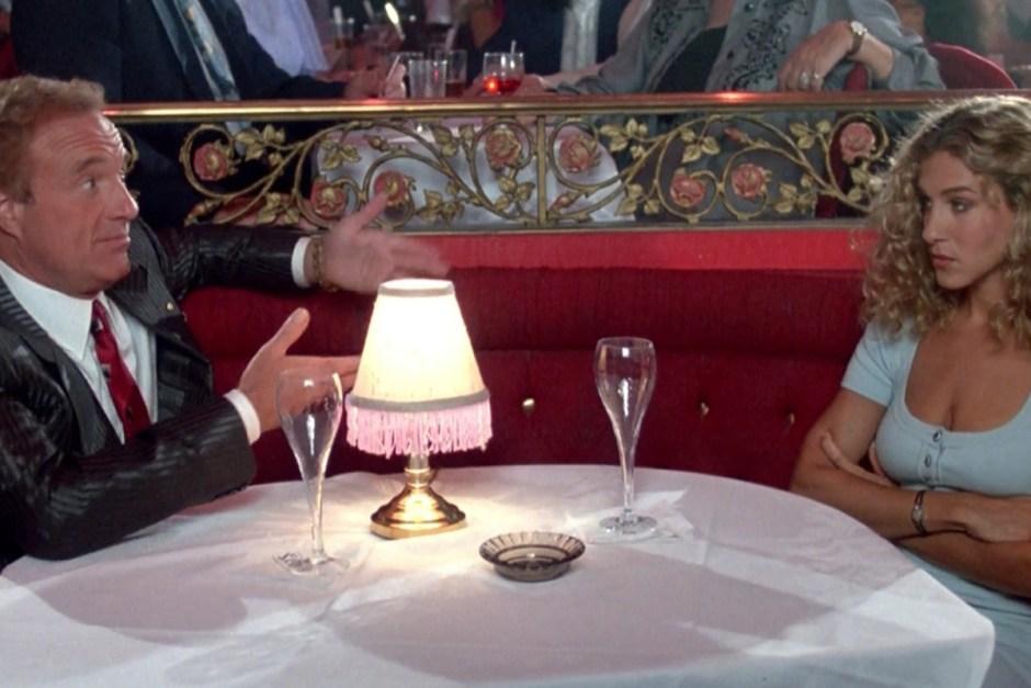 Sarah Jessica Parker isn't having it in Honeymoon In Vegas.