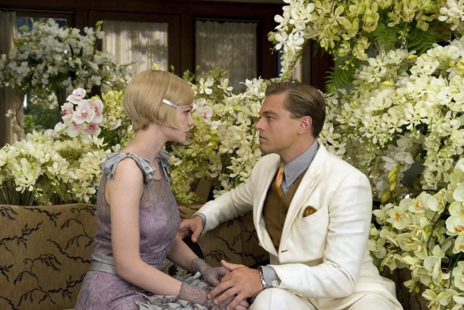 Leonardo DiCaprio talks to Daisy in The Great Gatsby.