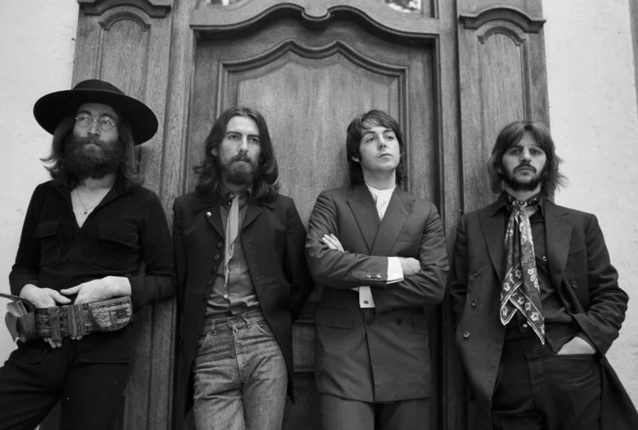 The Beatles late in career.