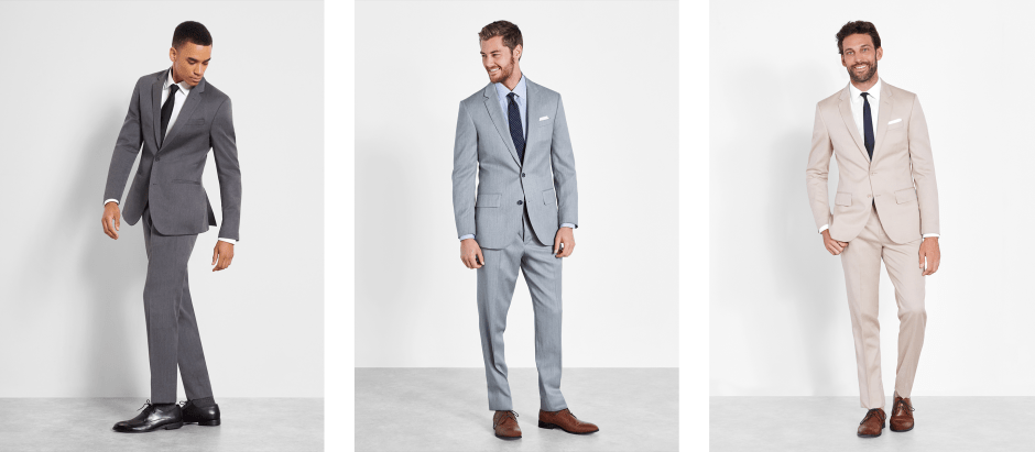Spring and summer groomsmen suit ideas.