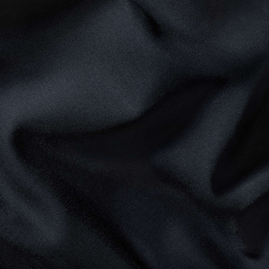 Navy suit fabric.