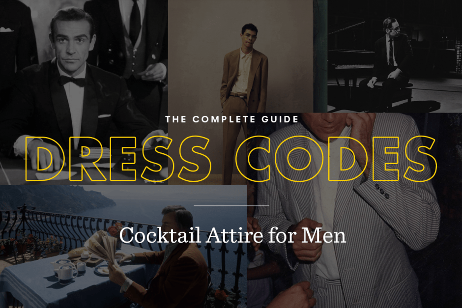 Mens cocktail attire dress code guide