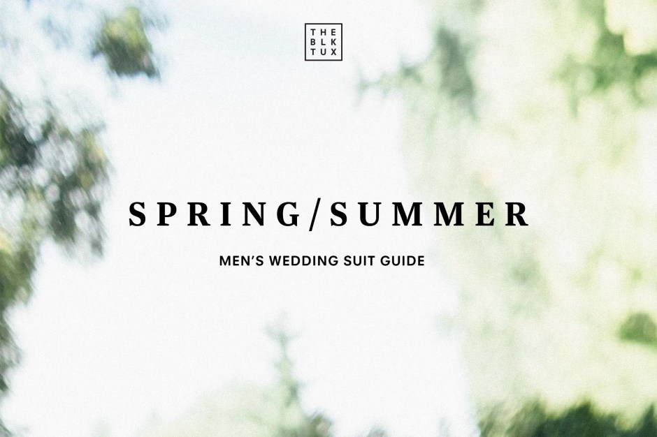 The Black Tux Mens Summer Wedding Attire Guide for 2019
