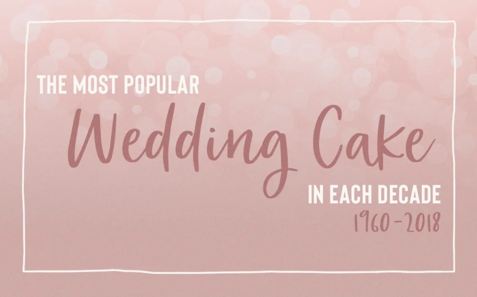 Most popular wedding cake flavors survey by The Black Tux