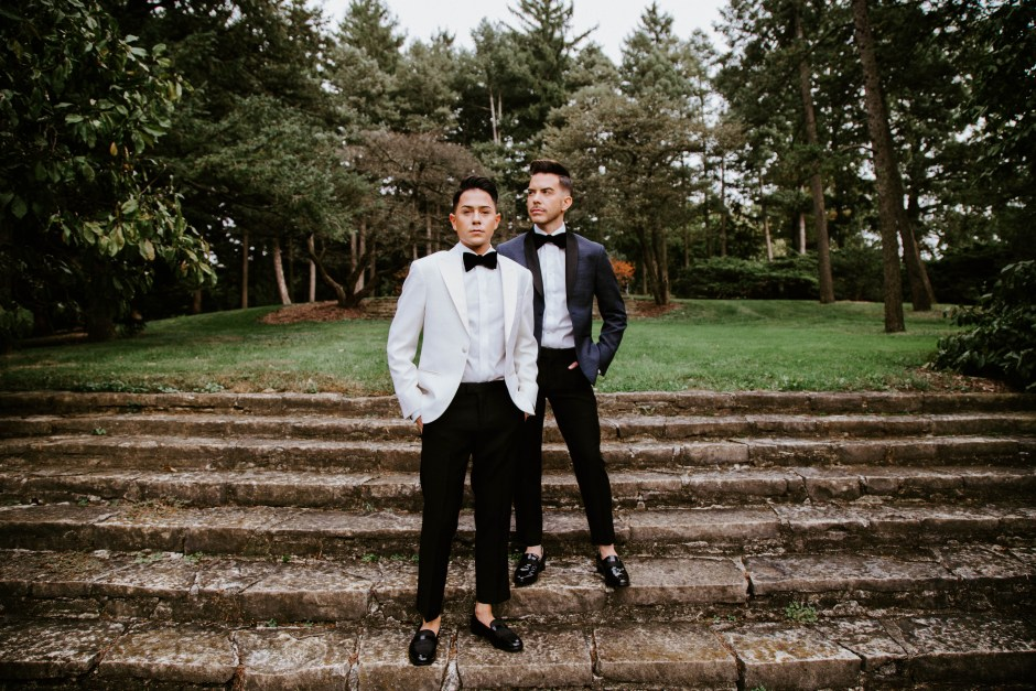 LGBTQ wedding ideas for attire
